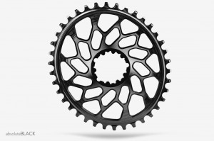 Tarcza ABSOLUTEBLACK SRAM DM CX1 Force oval 38T