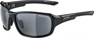 Okulary ALPINA Lyron black grey mirror