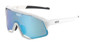 Okulary Koo Demos White Turquoise Lenses