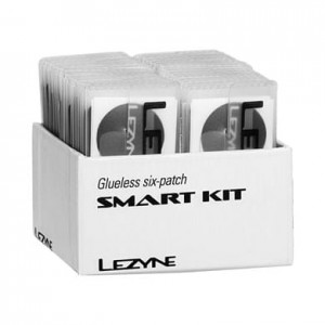 Łatki do dętek zestaw LEZYNE SMART KIT BOX